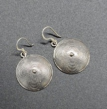 Rounded Tiznit Earrings