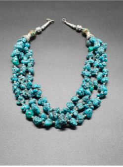 Chunky Turquoise Halter